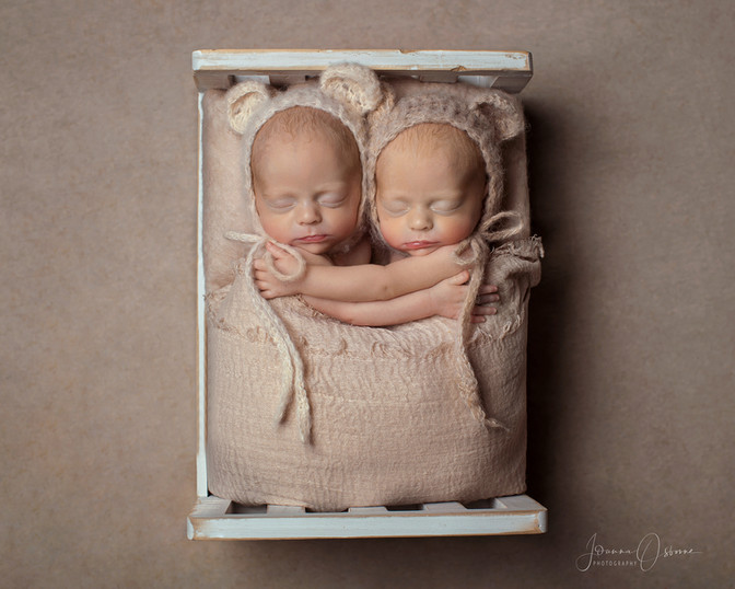 Newborn Twin Photography