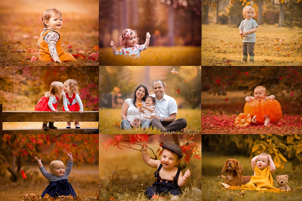 Cotswolds Baby and Family Photography Autumn Photoshoot