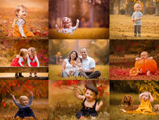 Autumn Baby and Family Photography in the Cotswolds