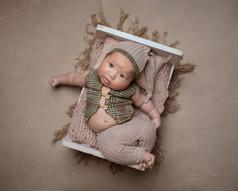 6 Week Old Baby Photoshoot
