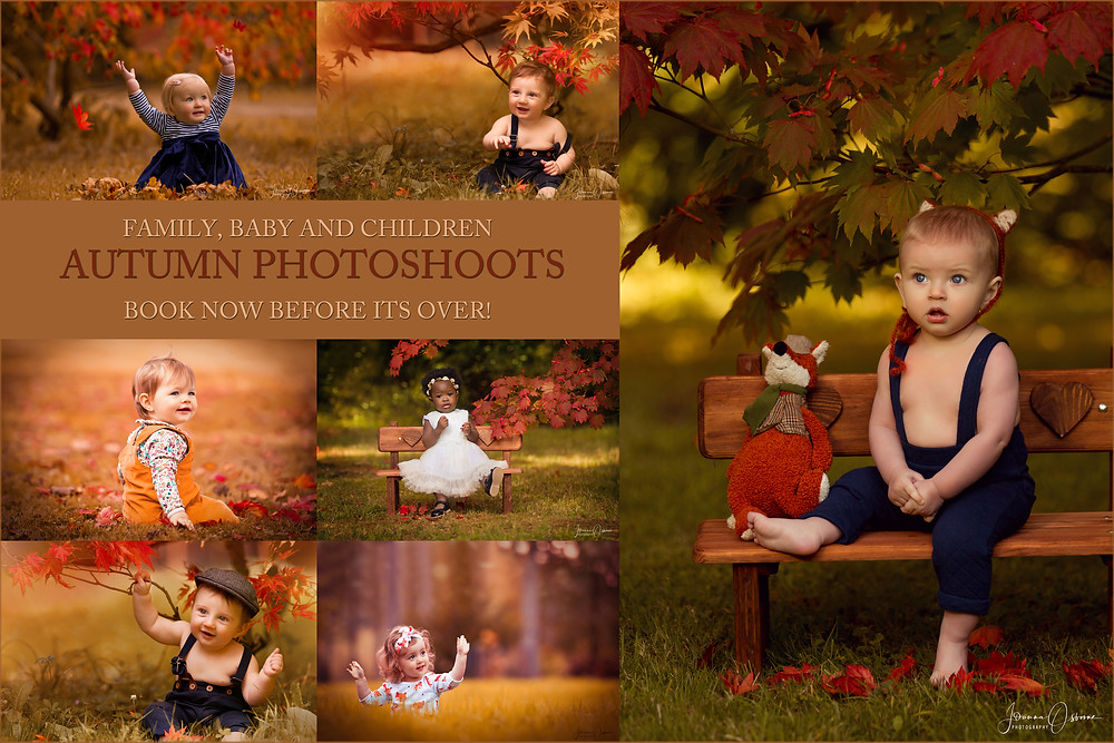 Autumn Photoshoot in the Cotswolds