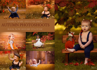 Autumn Baby, Children and Family Photography in the Cotswolds