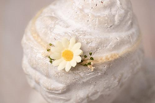 Daisy Newborn Tieback Headband