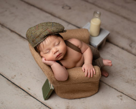 1 month Old Baby Photoshoot