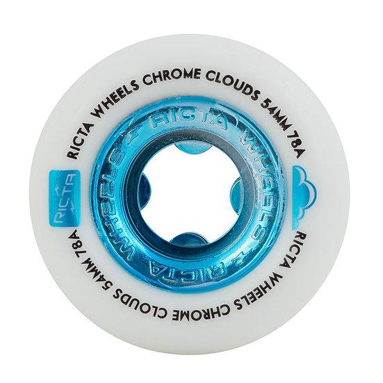 RICTA CHROME CLOUDS  54MM78A BLUE