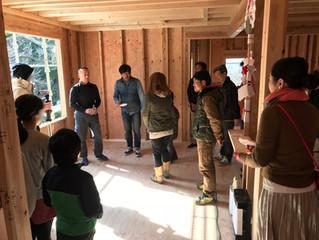『漆喰の家@岡崎市』でお餅投げ!