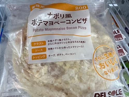 日本煙肉薯仔美乃滋薄餅