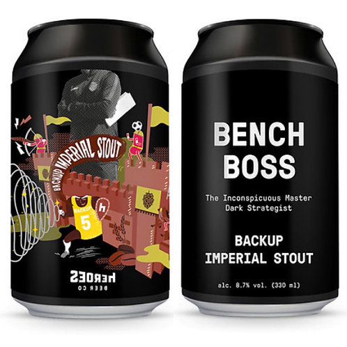 Bench Boss 帝國黑啤 x 3
