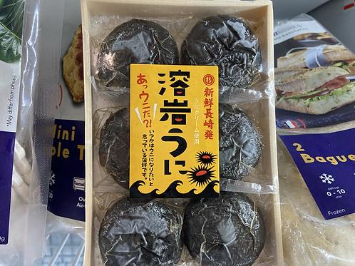 海膽熔岩墨魚汁魚餅