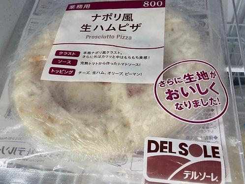 日本煙火腿薄餅