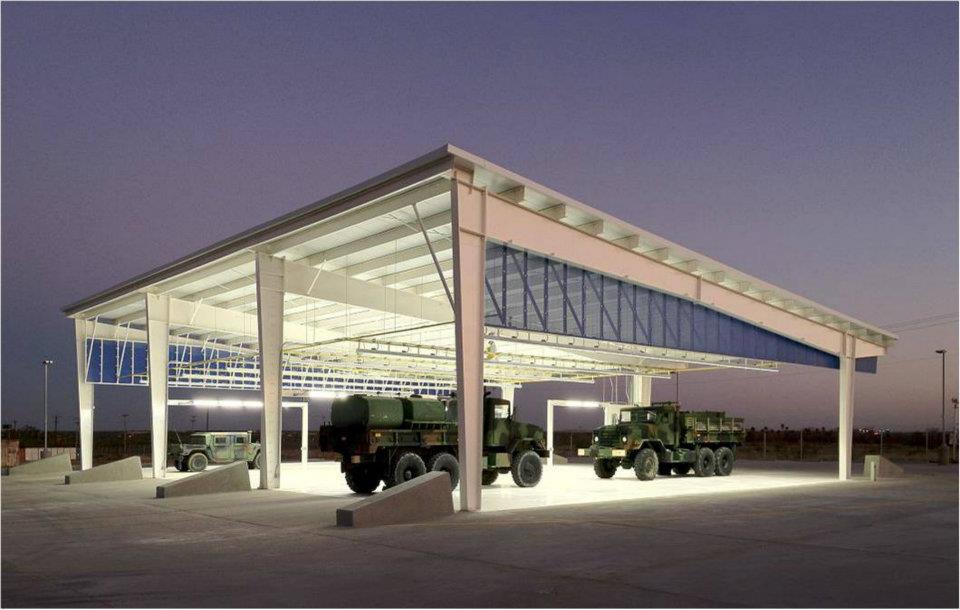 ActiveLED + Solar Military Install