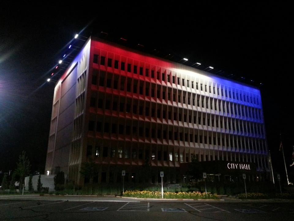 ActiveLED City Hall Independence Day