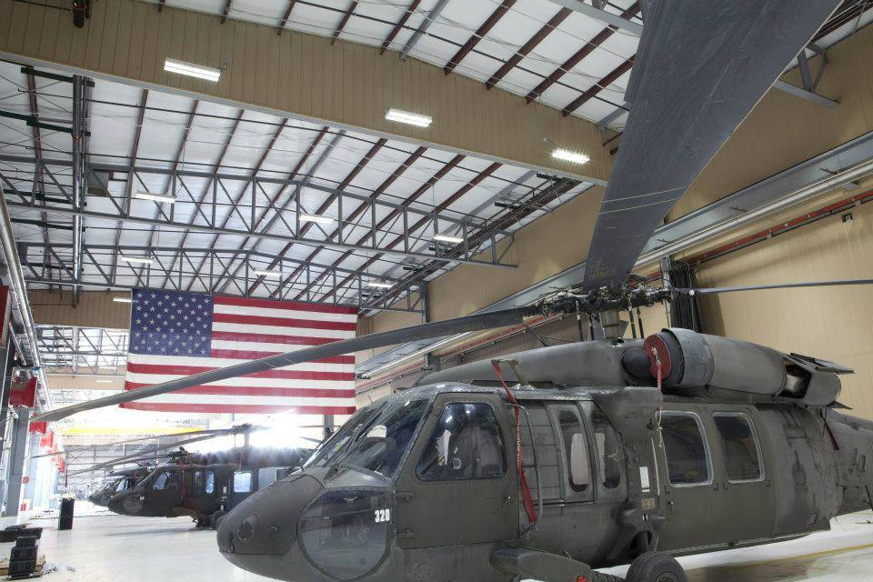 ActiveLED Blackhawk Hangar