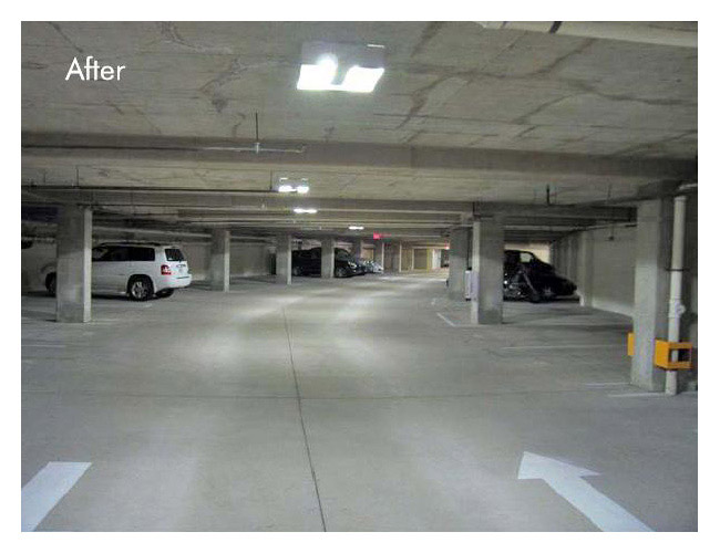 ActiveLED Parking Garage