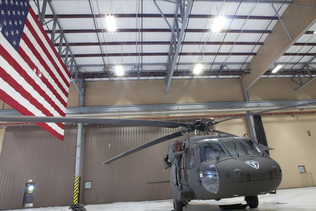 ActiveLED Camp Mabry Hangar