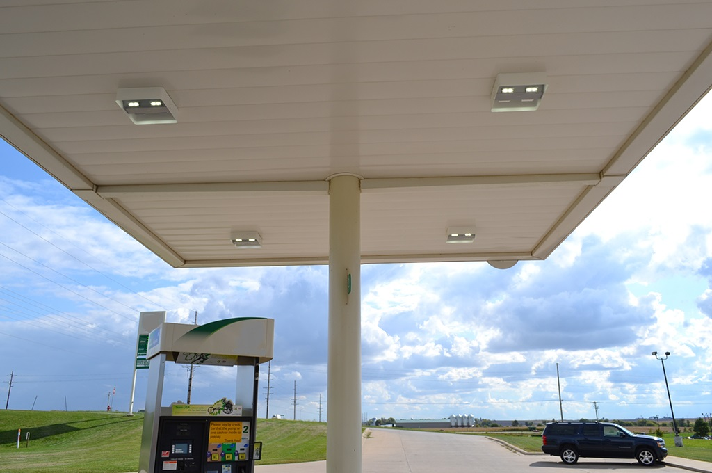 ActiveLED Gas Station Lighting