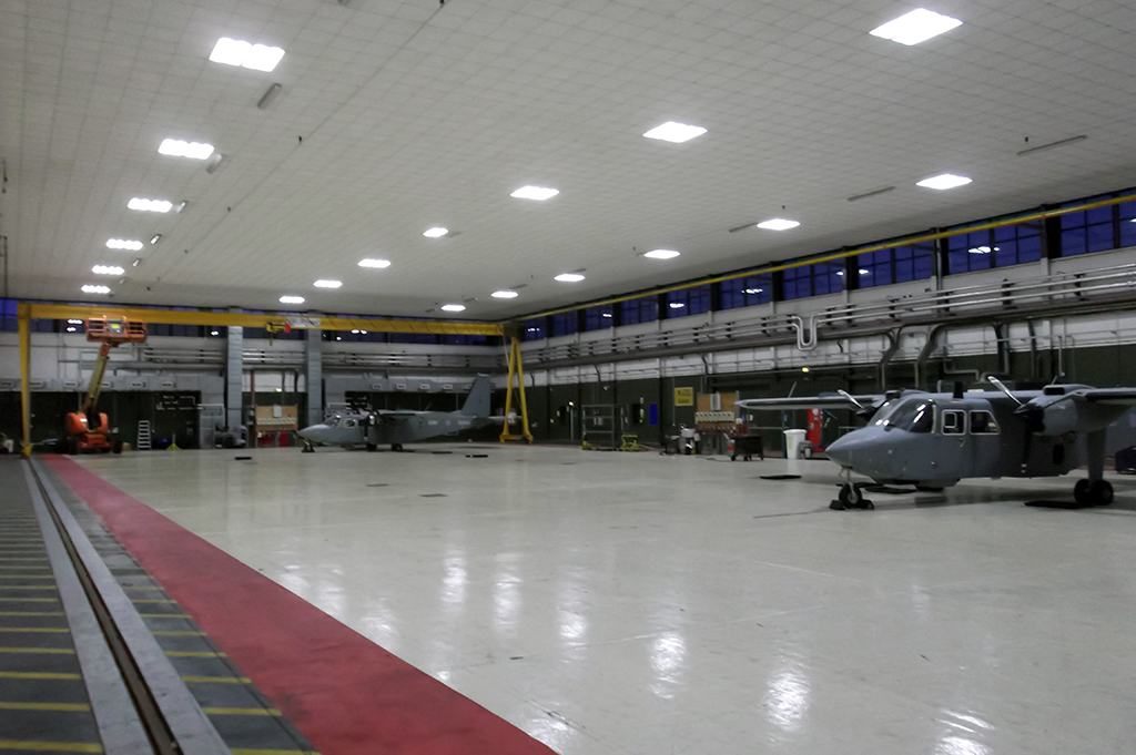 ActiveLED Military Hangar