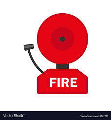 fire-alarm-icon-flat-style-vector-243227