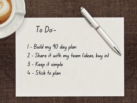 Its all about the planning!