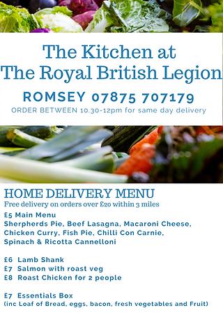 The Kitchen at The Royal British Legion-