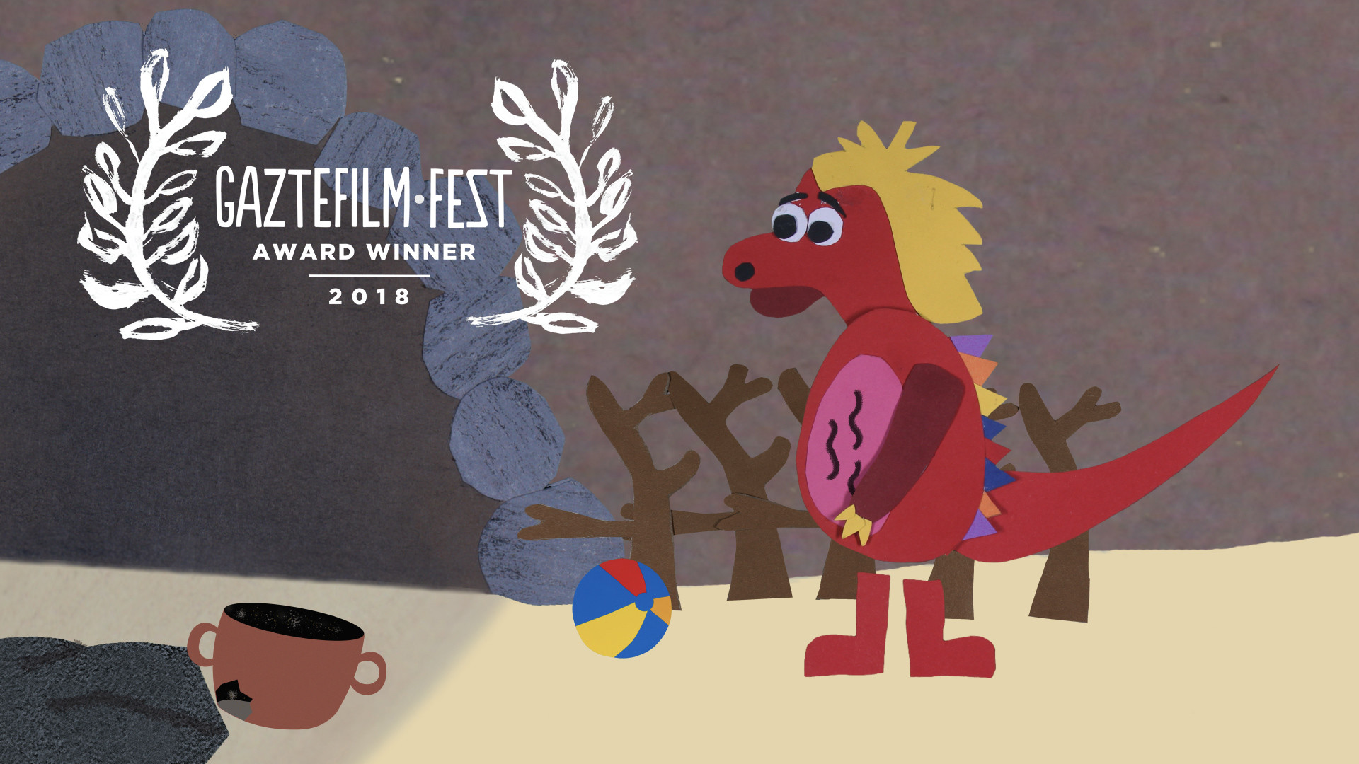 """Ganador mejor cortometraje sección """"Cine hecho por niños"""""""