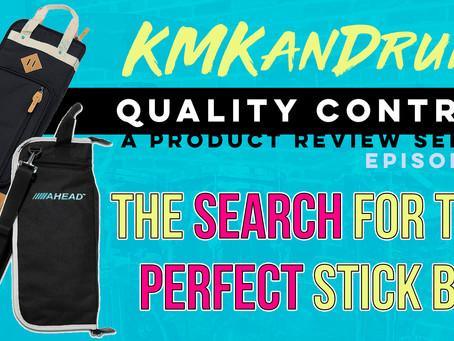 The Search for the Perfect Drum Stick Bag