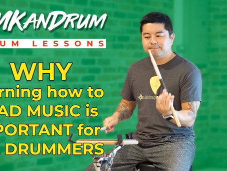 Why Learning to Read Music is So Important for Drummers
