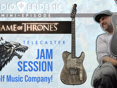 Game of Thrones Fender Telecaster Jam at Wolf Music Company