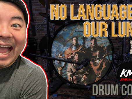 """""""No Language In Our Lungs"""" by XTC - KMKanDrum Cover"""