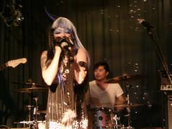 Christa & KMKanDrum of The Woolly Bandits c. 2009