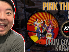 """""""Pink Thing"""" XTC Drum Cover and Karaoke Performance"""