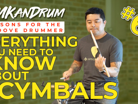 LESSON: Everything You Need to Know About Cymbals