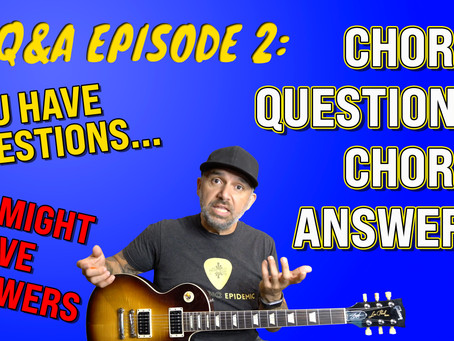 chords questions? chords answers!