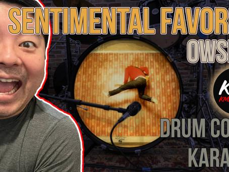 """DRUM COVER + KARAOKE: """"Sentimental Favorite"""" by Owsley"""