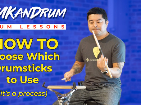 So many drumsticks, so little time