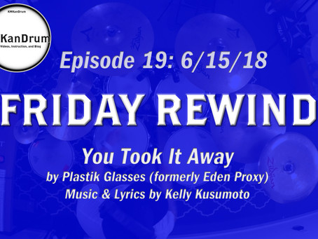 """FRIDAY REWIND Wk.19 """"You Took It Away"""" by Plastik Glasses"""