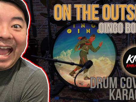 On The Outside (Oingo Boingo) Drum + Karaoke Cover