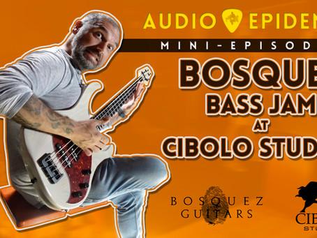 Bosquez Guitars & Cibolo Studios jam session