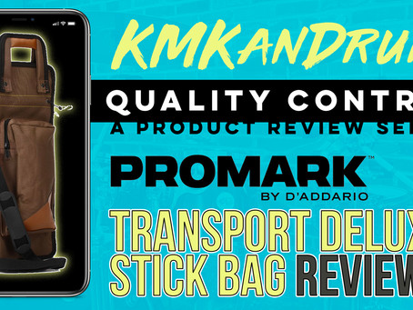 REVIEW: ProMark Transport Deluxe Stick Bag
