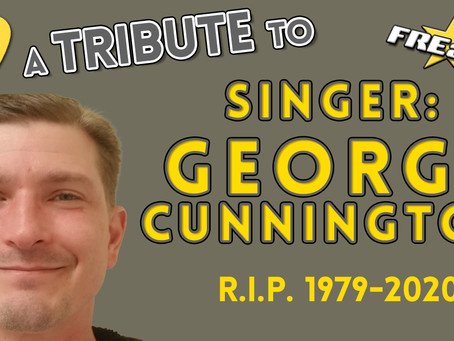 RIP to our former singer, george cunnington