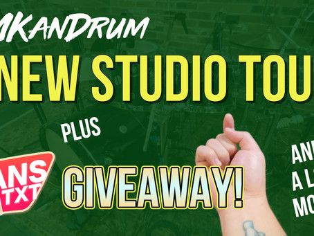 GIVEAWAY plus New Studio Tour and a lot more!