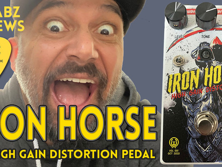 Reviewing the Iron Horse v2 Distortion Pedal