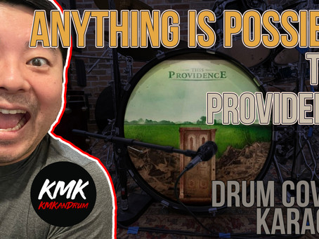 """""""Anything Is Possible"""" This Providence Drum Cover and Karaoke Performance by KMKanDrum"""