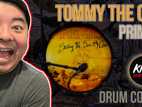 """""""Tommy The Cat"""" Primus Drum Cover"""