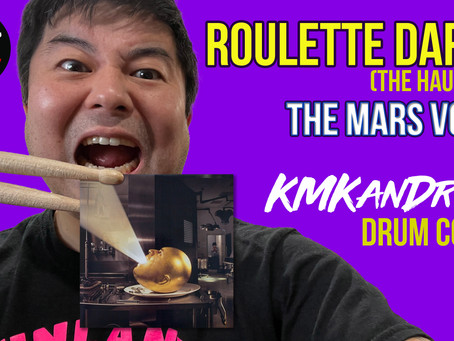 """DRUM COVER: """"Roulette Dares (The Haunt of)"""" by The Mars Volta"""