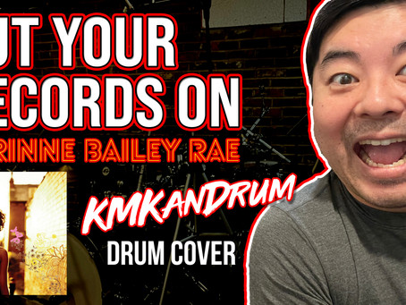 Put Your Records On Drum Cover