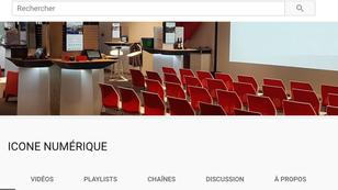 Une chaine Youtube Icone Numérique