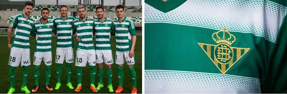 Real Betis green and white hoops