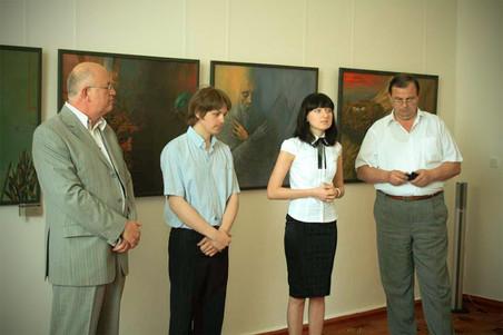Presentation the exhibition at the Livadia Palace