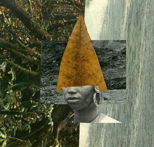 Laíza Ferreira - Sem título, Construindo narrativas como dispositivo de re existência série, colagem analógica, 2020 15x15cm